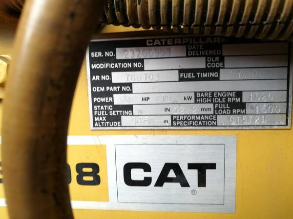 5#6112 Gruppo elettrogeno Caterpillar in vendita - foto 4