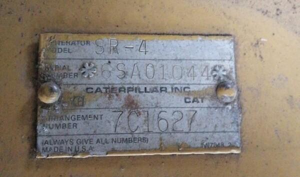 6#6112 Gruppo elettrogeno Caterpillar in vendita - foto 7