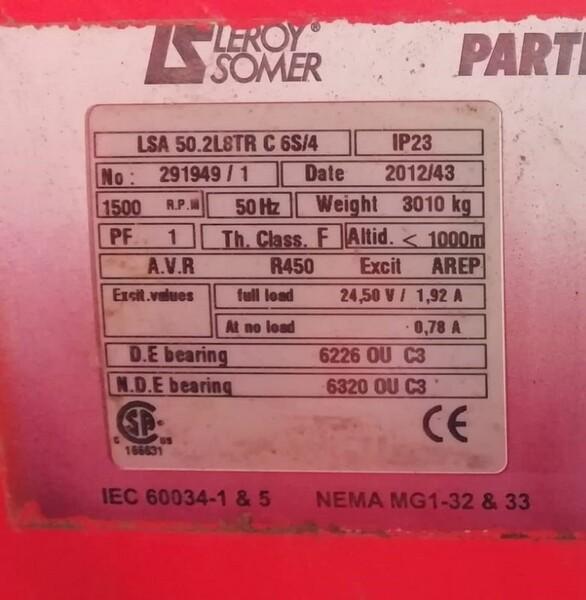 8#6112 Gruppo elettrogeno Guascor in vendita - foto 4