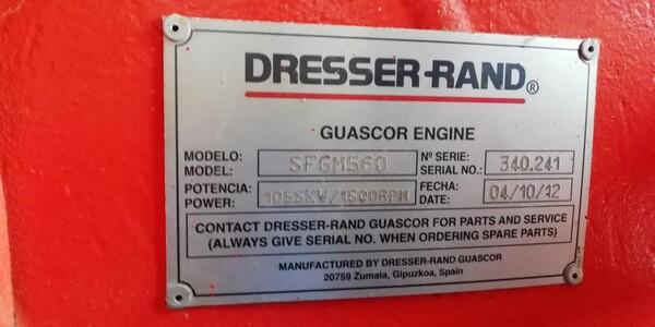 8#6112 Gruppo elettrogeno Guascor in vendita - foto 5