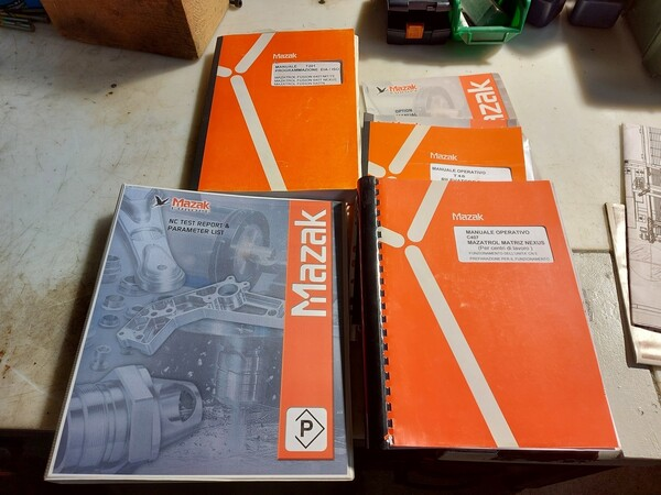 1#6118 Centri fresatura tornitura Mazak e attrezzature lavorazioni meccaniche in vendita - foto 19