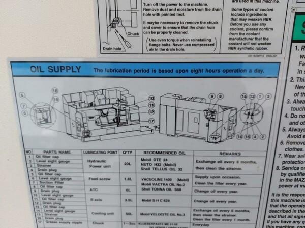 1#6118 Centri fresatura tornitura Mazak e attrezzature lavorazioni meccaniche in vendita - foto 156