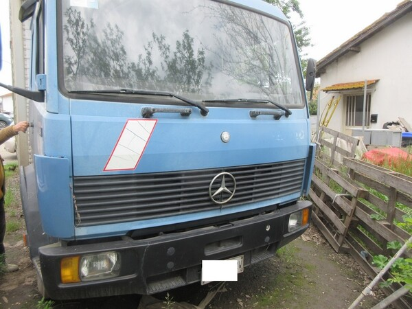 1#6120 Autocarro Mercedes e Motociclo Lambretta in vendita - foto 46