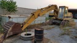 Caterpillar excavator 215 - Lot 2 (Auction 6125)