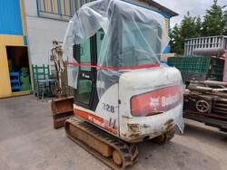 Bobcat 328 mini excavator - Lot 4 (Auction 6125)