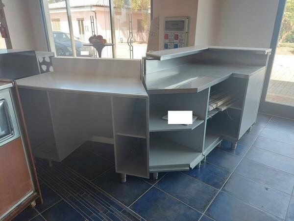 15#6126 Banco bar e banco cassa in vendita - foto 1