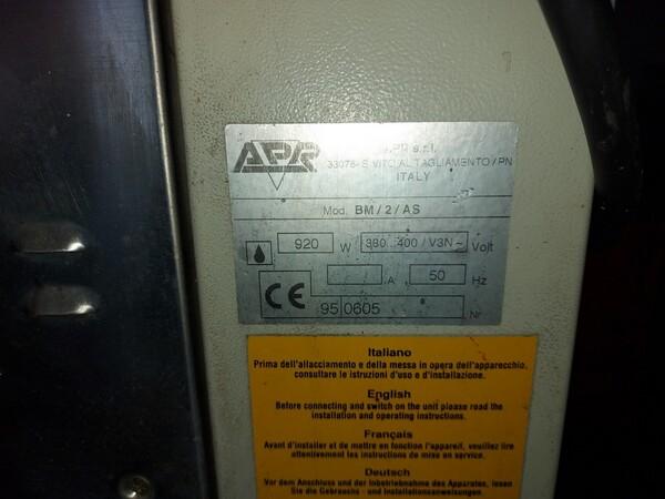 22#6126 Spezzatrice arrotondatrice Apr in vendita - foto 4