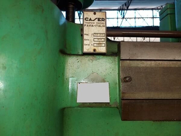 20#6127 Trapano radiale Caser in vendita - foto 2