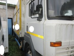 Nissan refrigerated lorry - Lot 1 (Auction 6129)