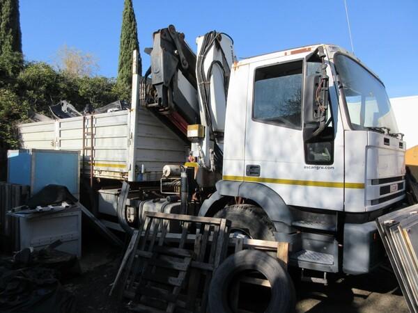 3#6131 Autocarro cassone a sponde Iveco in vendita - foto 1