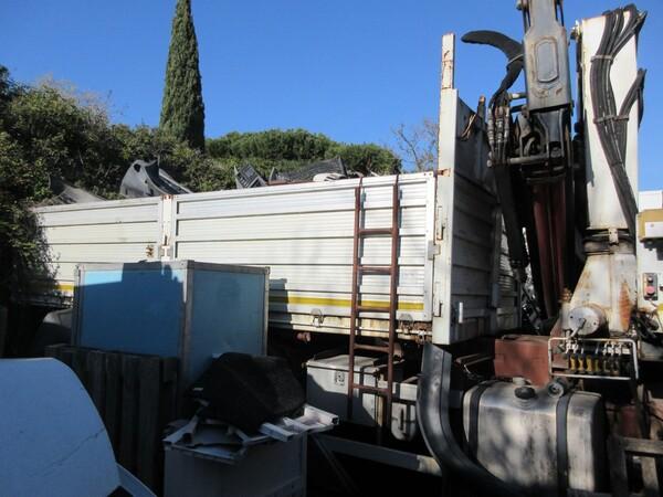 3#6131 Autocarro cassone a sponde Iveco in vendita - foto 3