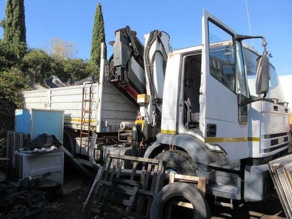 3#6131 Autocarro cassone a sponde Iveco in vendita - foto 4