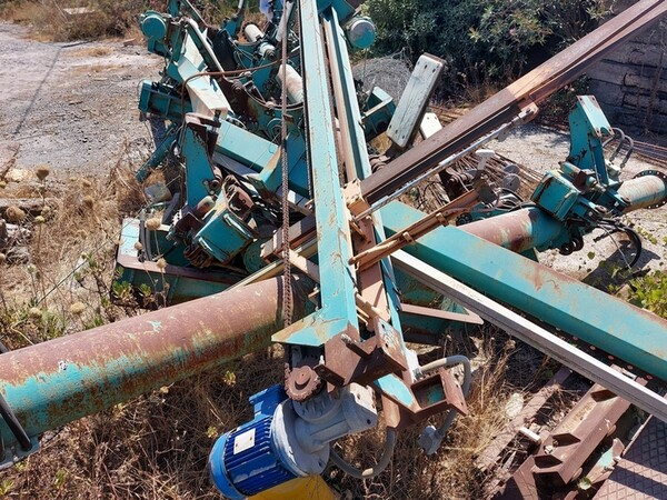 1#6134 Silos smontato  e materiale ferroso in vendita - foto 10
