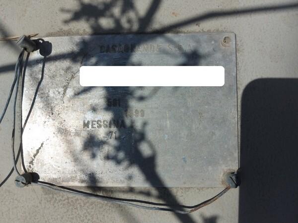 1#6134 Silos smontato  e materiale ferroso in vendita - foto 16