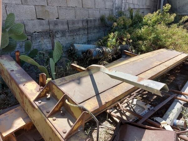 1#6134 Silos smontato  e materiale ferroso in vendita - foto 24