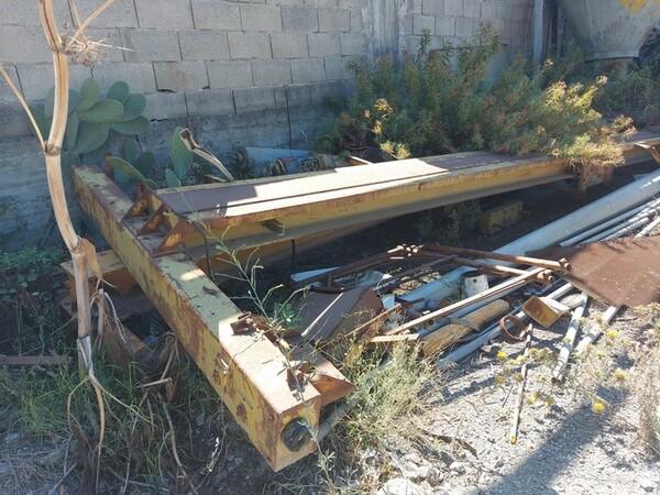 1#6134 Silos smontato  e materiale ferroso in vendita - foto 36