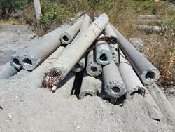 Cement telegraph poles - Lot 3 (Auction 6134)