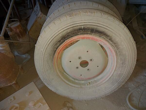 6#6134 Distanziatori per cemento e ruote per muletto in vendita - foto 4