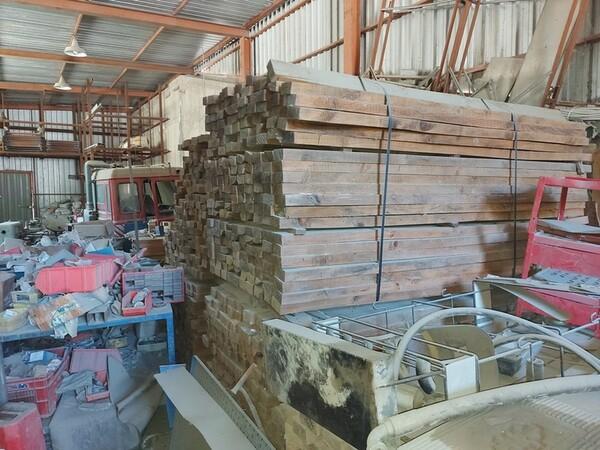 7#6134 Tavole di legno di pioppo in vendita - foto 1