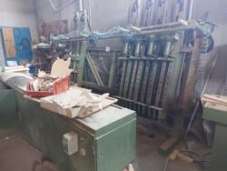 Strettoio e cabina di verniciatura a secco - Lotto 13 (Asta 6135)