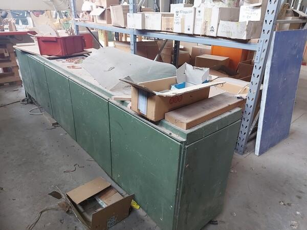 13#6135 Strettoio e cabina di verniciatura a secco in vendita - foto 4