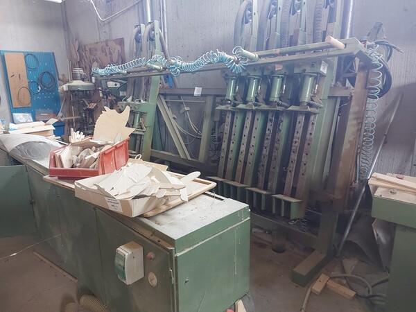 13#6135 Strettoio e cabina di verniciatura a secco in vendita - foto 5