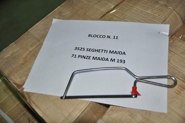 11#6136 Seghetto e pinza Maida M193 in vendita - foto 2