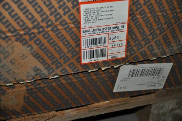 16#6136 Lamiere contenitore e lamiere telaio in vendita - foto 9
