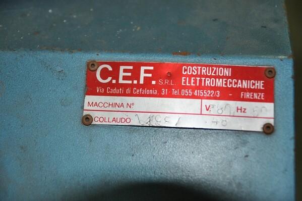 33#6136 Rastrelliera porta bobine Nicoletti e Bilancia Mongelli in vendita - foto 16