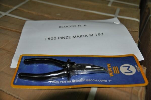 6#6136 Pinza Maida M193 in vendita - foto 1