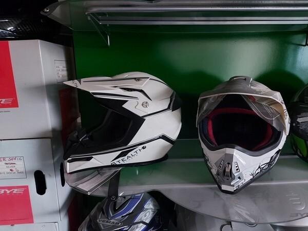3#6138 Caschi per moto scooter e motocross in vendita - foto 4