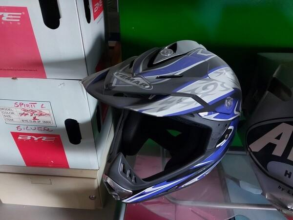 3#6138 Caschi per moto scooter e motocross in vendita - foto 5
