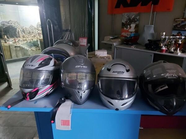 3#6138 Caschi per moto scooter e motocross in vendita - foto 6