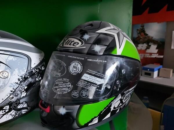 3#6138 Caschi per moto scooter e motocross in vendita - foto 11