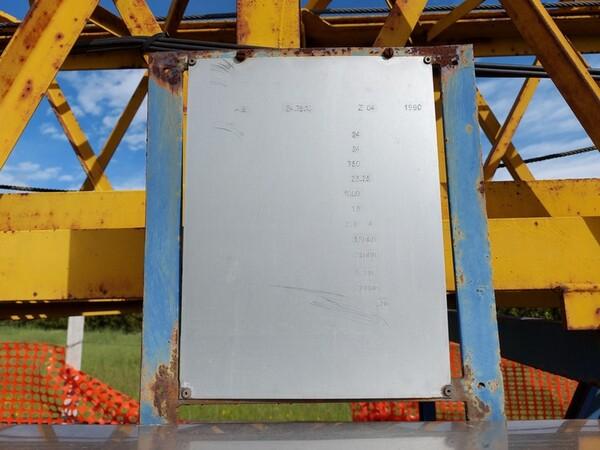 1#6141 Gru a torre Cibin Gru e attrezzature edili in vendita - foto 5