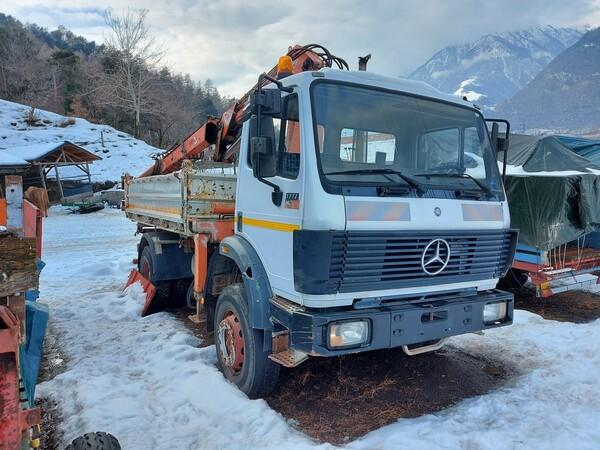 1#6148 Macchina operatrice semovente Mercedes Benz in vendita - foto 5