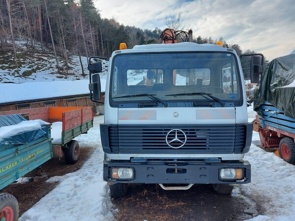 1#6148 Macchina operatrice semovente Mercedes Benz in vendita - foto 6