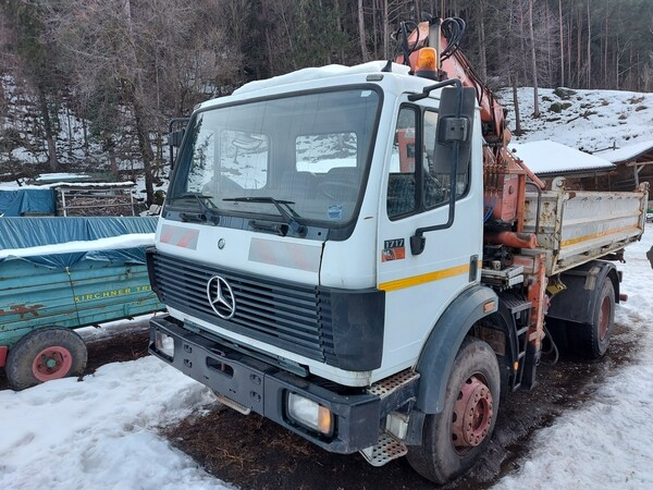 1#6148 Macchina operatrice semovente Mercedes Benz in vendita - foto 7