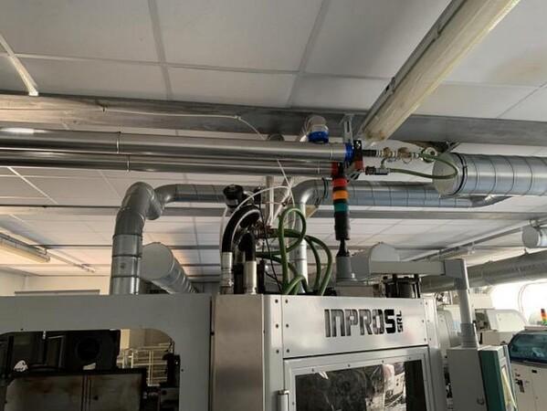 1#6150 Pressa stampaggio dischi vinile Inpros Srl e generatore vapore Cometh in vendita - foto 12