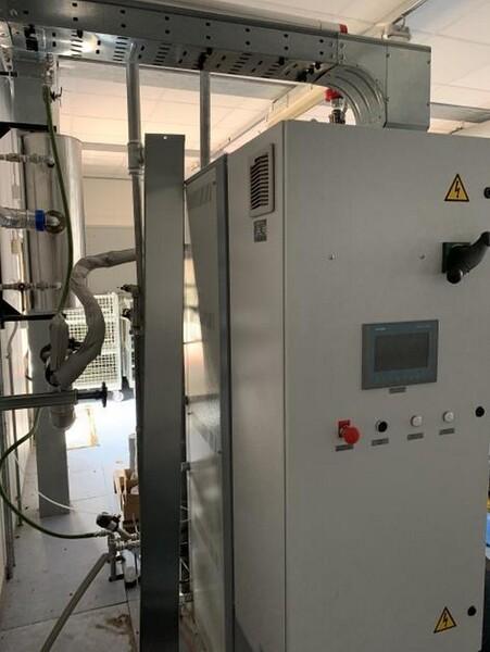 1#6150 Pressa stampaggio dischi vinile Inpros Srl e generatore vapore Cometh in vendita - foto 33