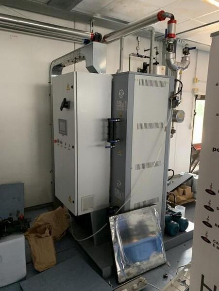 1#6150 Pressa stampaggio dischi vinile Inpros Srl e generatore vapore Cometh in vendita - foto 34