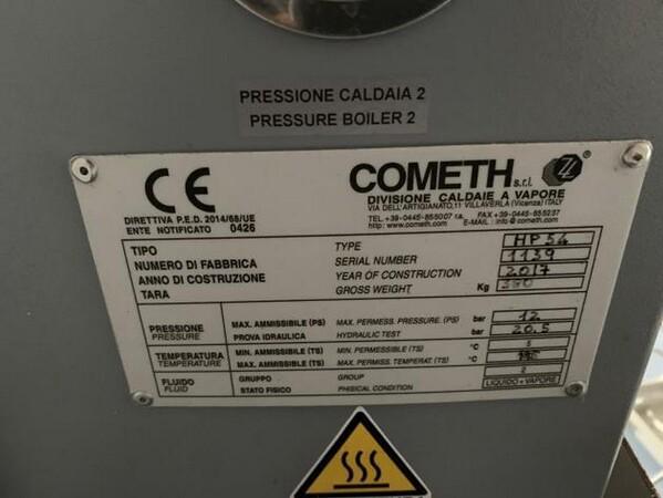 1#6150 Pressa stampaggio dischi vinile Inpros Srl e generatore vapore Cometh in vendita - foto 37