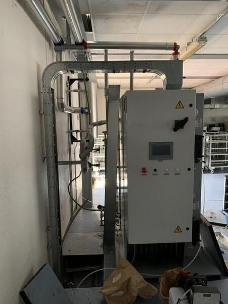 1#6150 Pressa stampaggio dischi vinile Inpros Srl e generatore vapore Cometh in vendita - foto 39