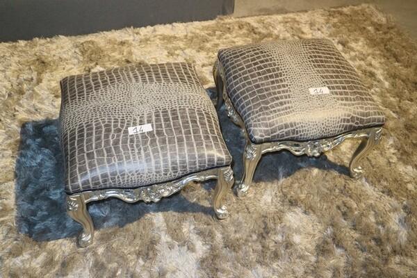 14#6151 Pouf in pelle Modà Mode in vendita - foto 2