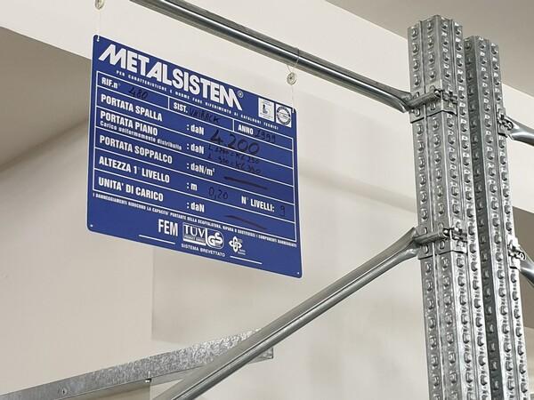 1#6164 Magazzino automatizzato Metalsistem in vendita - foto 2
