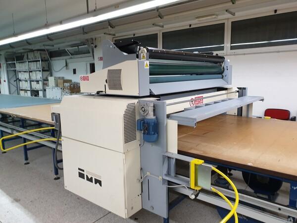 4#6164 Macchine stendi tessuti Ima con tavoli di stesura in vendita - foto 2
