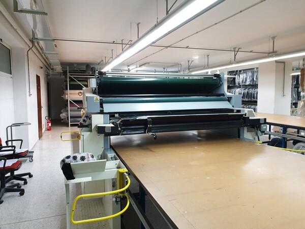 4#6164 Macchine stendi tessuti Ima con tavoli di stesura in vendita - foto 5