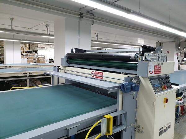 4#6164 Macchine stendi tessuti Ima con tavoli di stesura in vendita - foto 13
