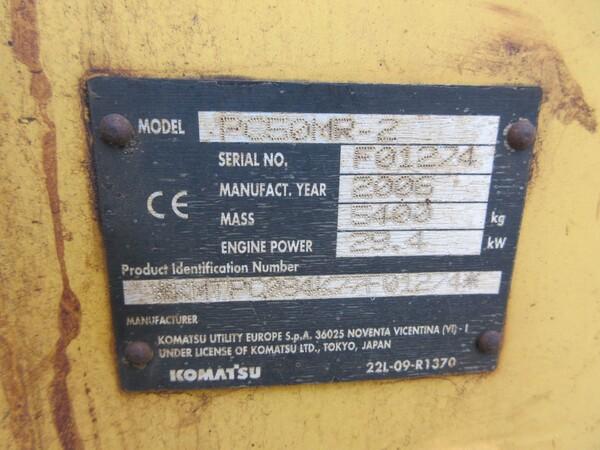 10#6166 Miniescavatore Komatsu in vendita - foto 2