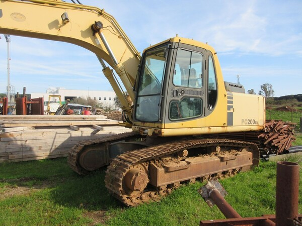 11#6166 Escavatore Komatsu PC200 in vendita - foto 2
